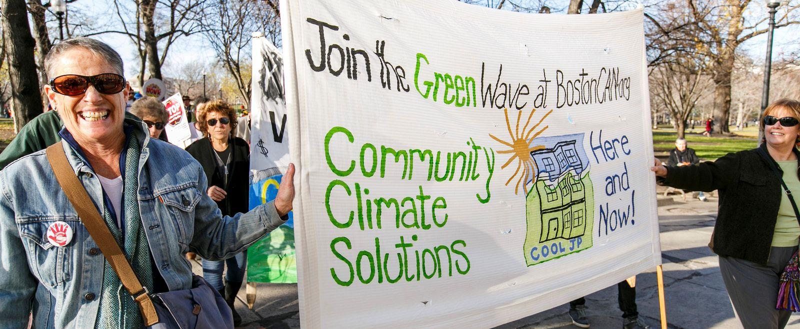 Boston Climate Rally
