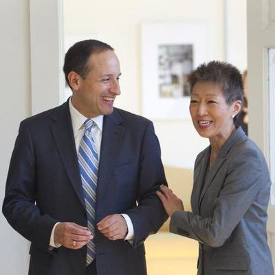 Jim Canales and Jane Chu