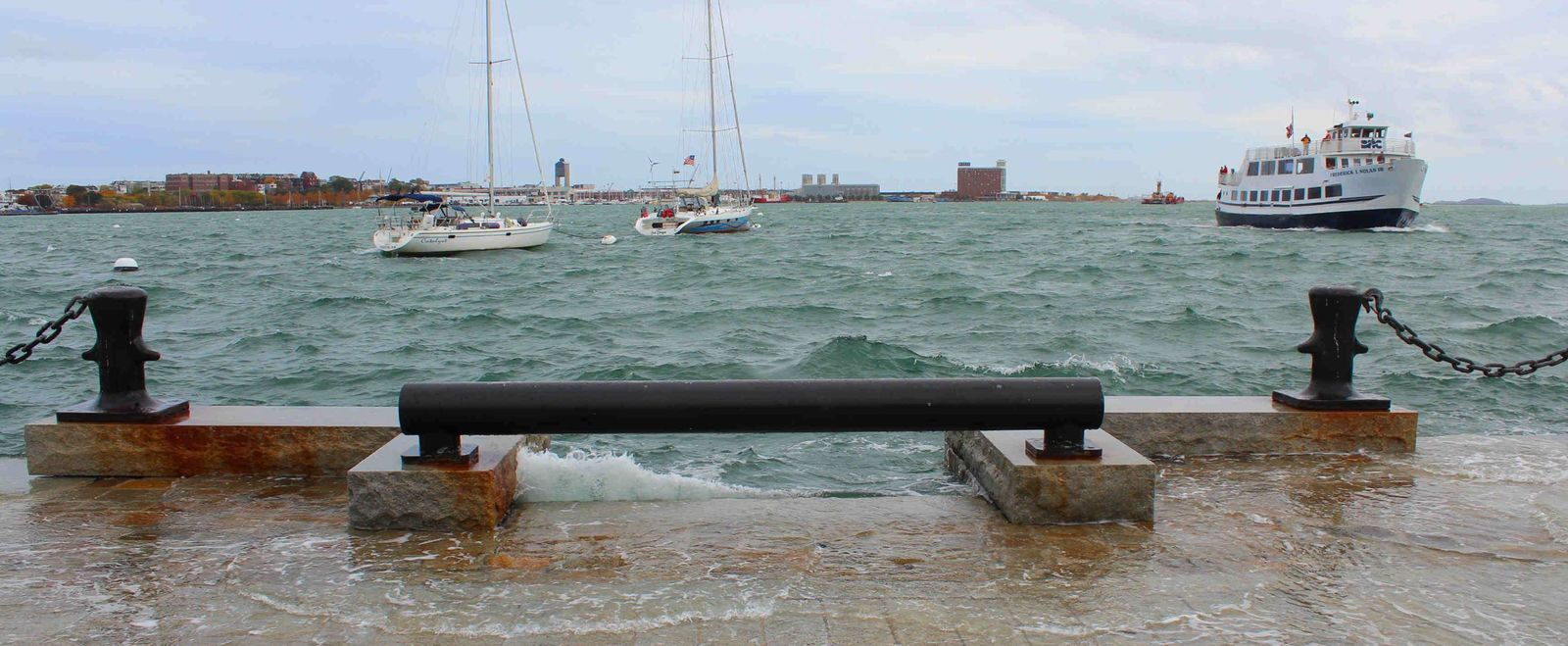 Rising Seas Boston Harbor