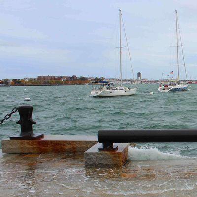 Rising Seas Boston Harbor