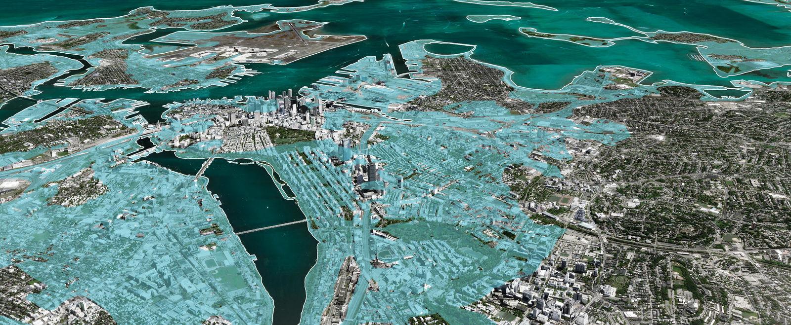 Sea Level Rise in Boston