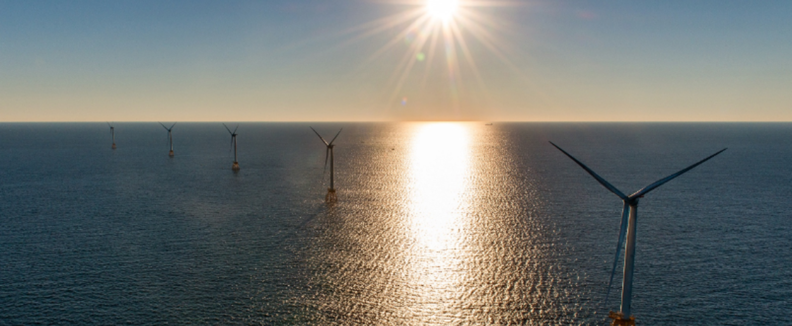 Block Island Wind Farm Sunrise