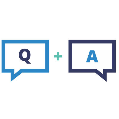 """Graphic showing thought bubbles with """"Q"""" and """"A"""" in them."""
