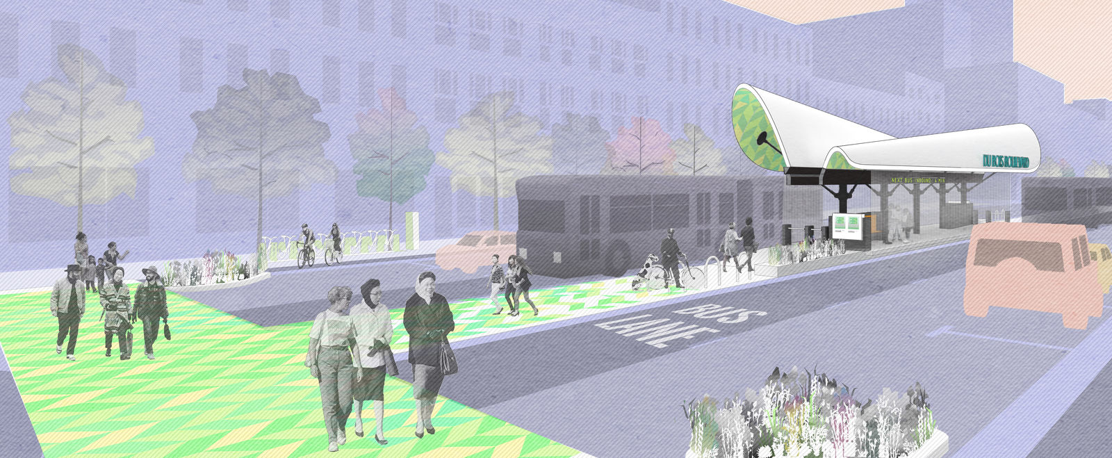 BostonBRT Station Design Entry by Utile