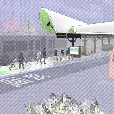 BostonBRT Station Design Entry by Utile
