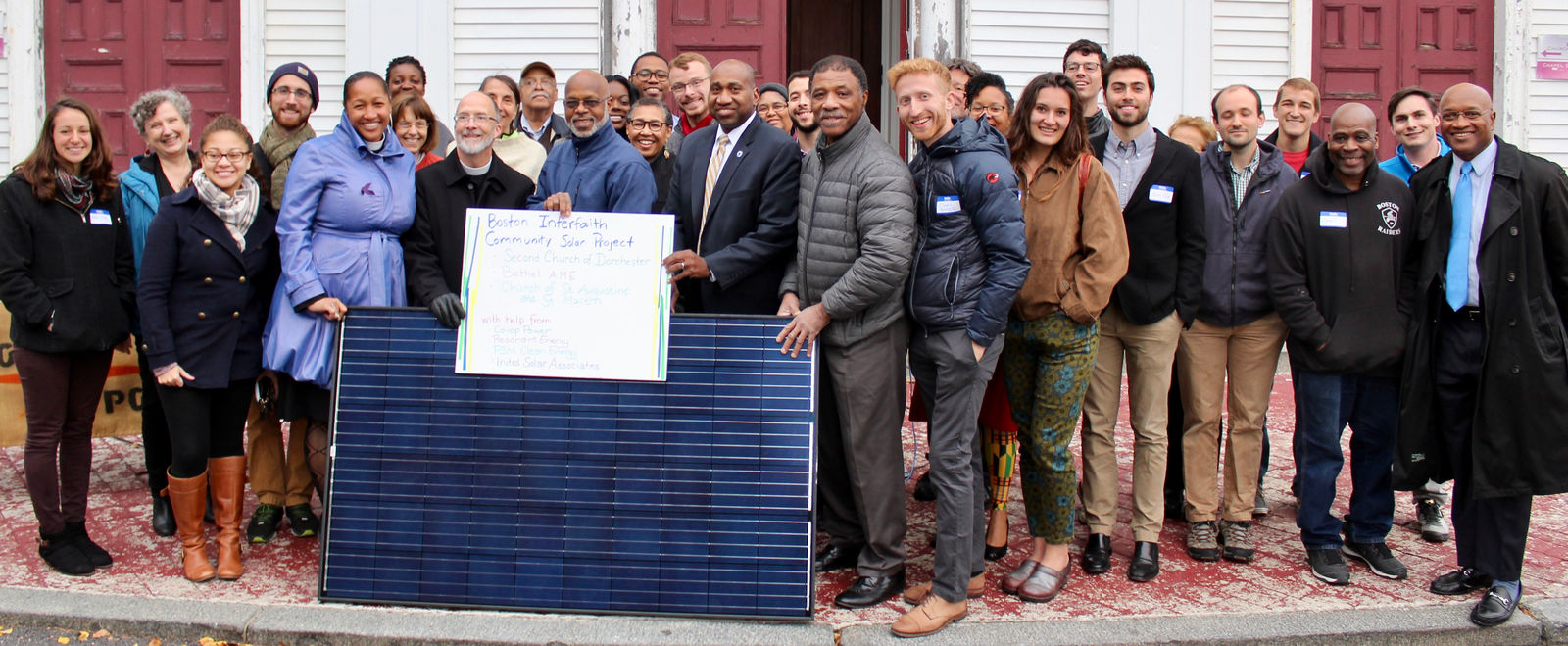 Congregations lead by example through Boston Interfaith community solar project