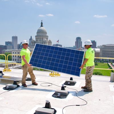 Solar installation Rhode Island