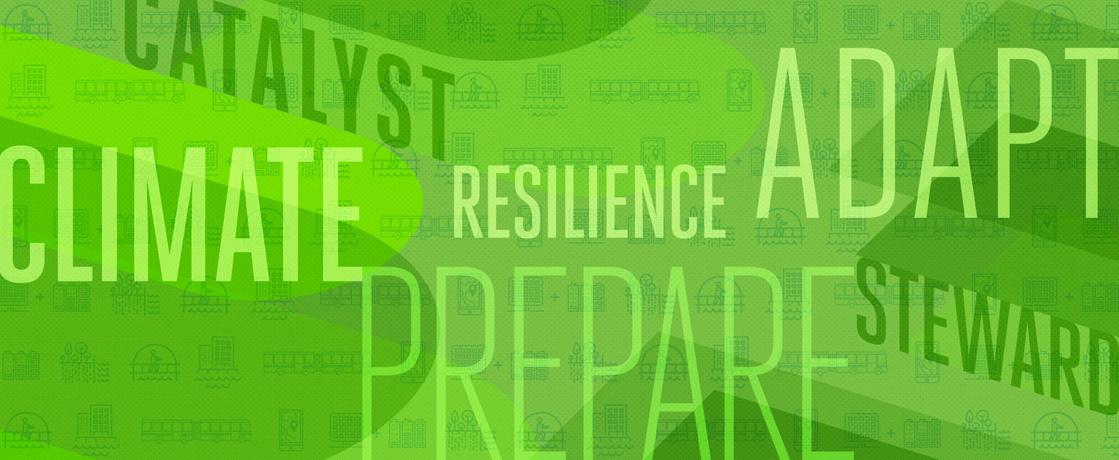 Icons of climate resiliency solutions