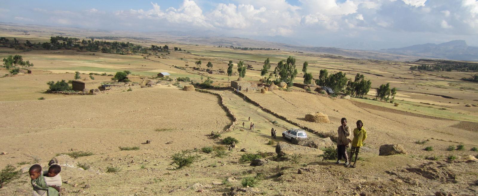 The Tigray region of Ethiopia.