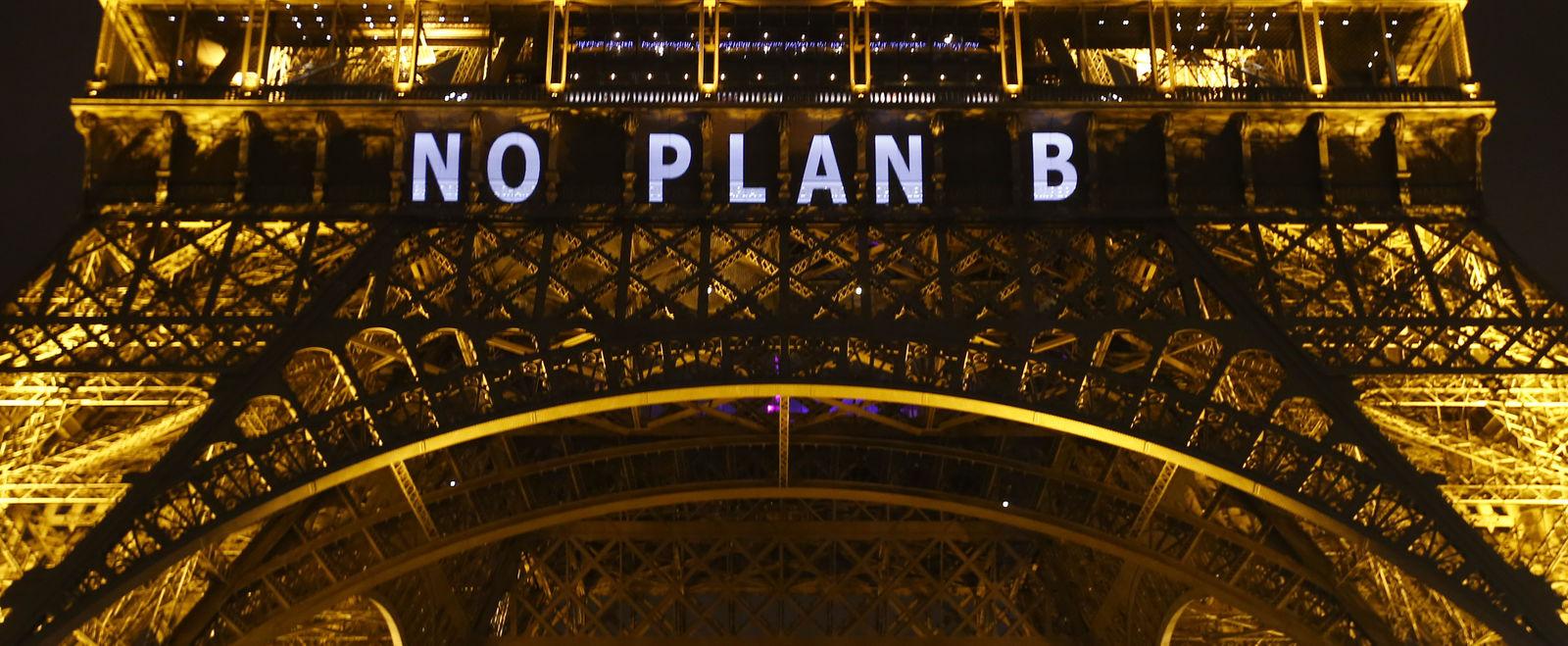 Eiffel Tower No Plan B