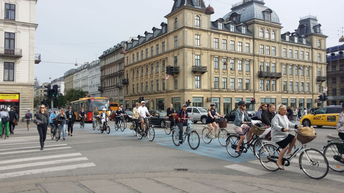 Bicycle COmmuters in Copenhagen