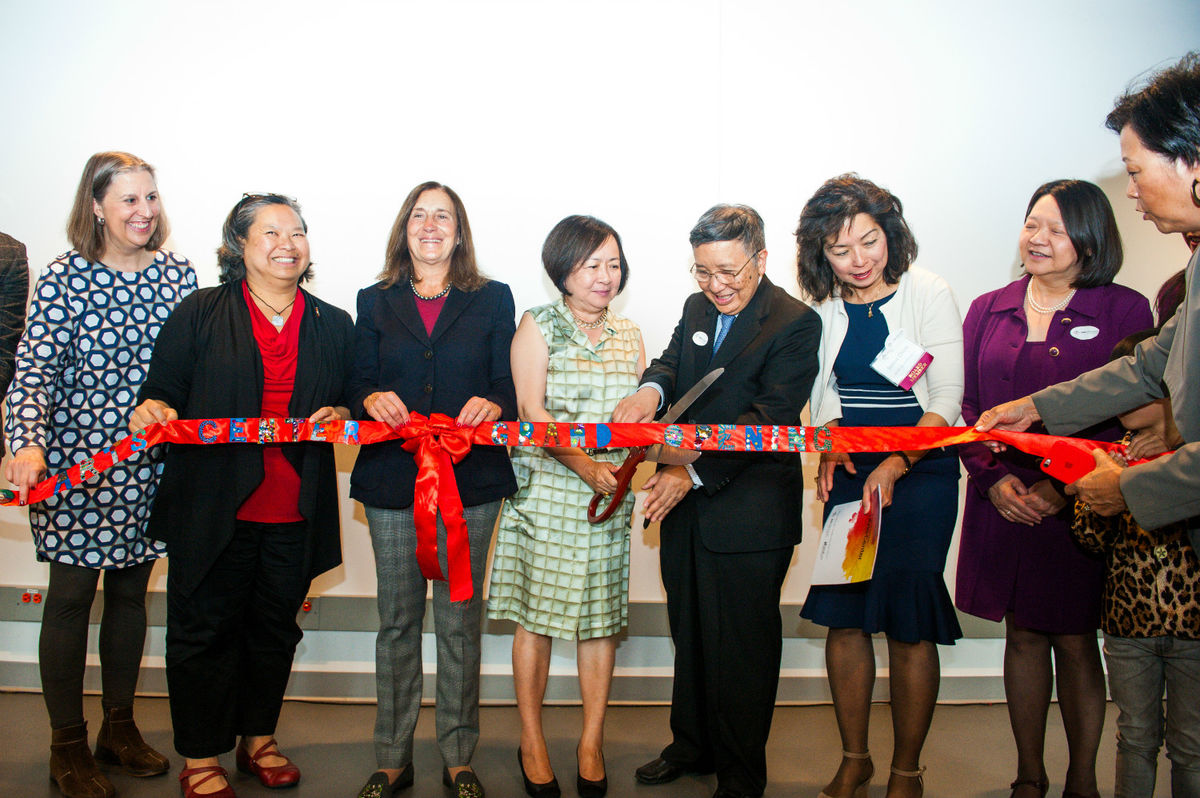 2017 Ribbon cutting at BCNC Pau Arts Center