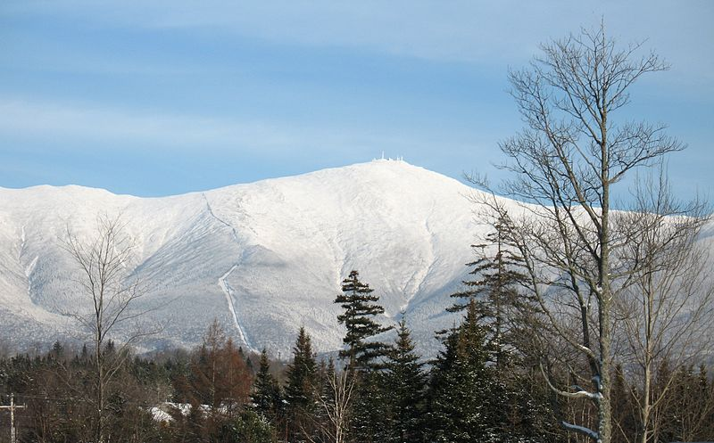 Mt. Washington from Bretton Woods by wwoods Wikimedia Commons