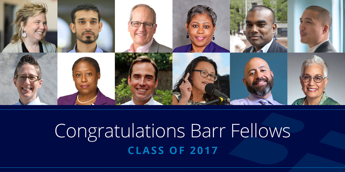 Barr Fellows Class of 2017