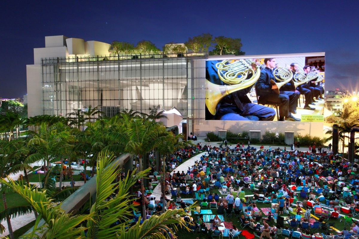 New World Symphony WALLCAST (Source: Miami Foundation)