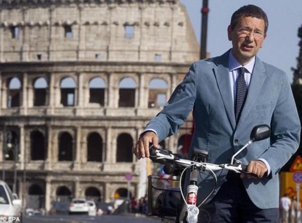Dr. Ignazio Marino the Mayor of Rome