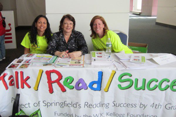 Talk/Read/Succeed staff at a parent empowerment conference